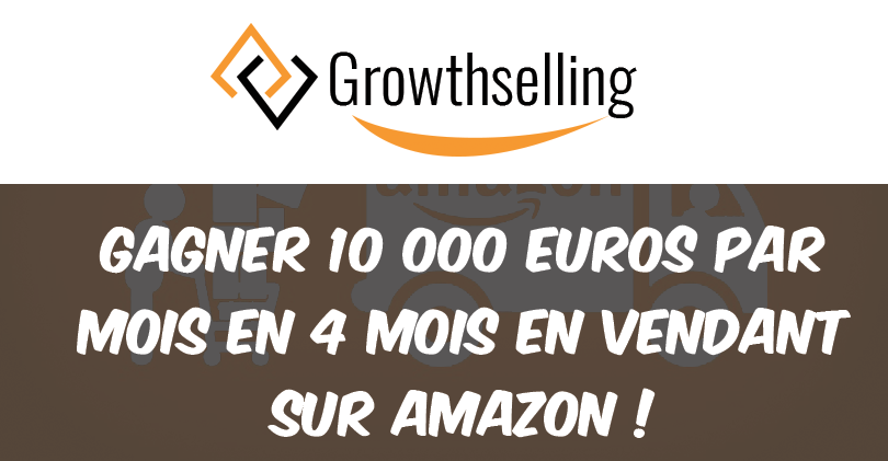 comment gagner 10 000 euros par mois en 4 mois en vendant sur amazon growthselling. Black Bedroom Furniture Sets. Home Design Ideas